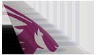 カタール航空尾翼ロゴ