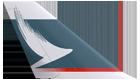 キャセイパシフイック航空尾翼ロゴ