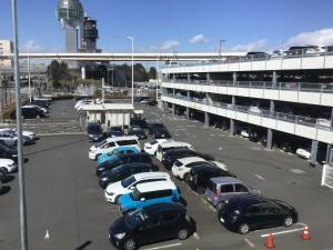 P5駐車場全景